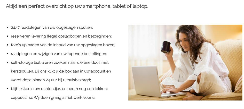 overzicht spullen 123space.nl