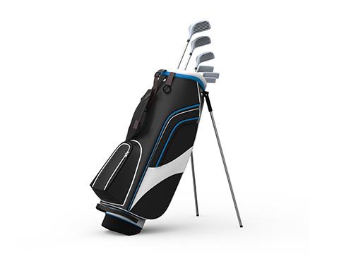 XL item 123space.nl golfset+tas